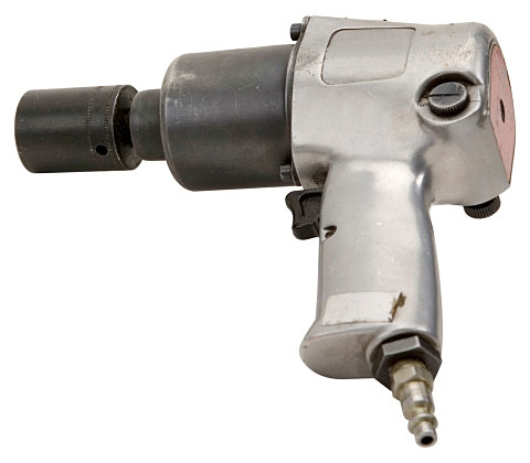 air-powered pneumatic impact wrench