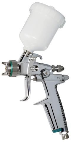 air-powered spray gun